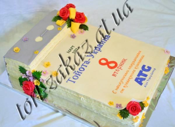 8 марта - Торты - Торт на заказ в Киеве.