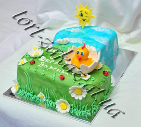 торт облака фото